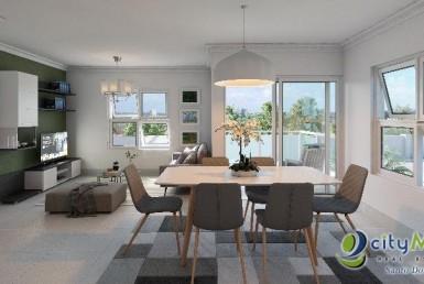 Apartamento en venta en san Isidro de 3 habitaciones